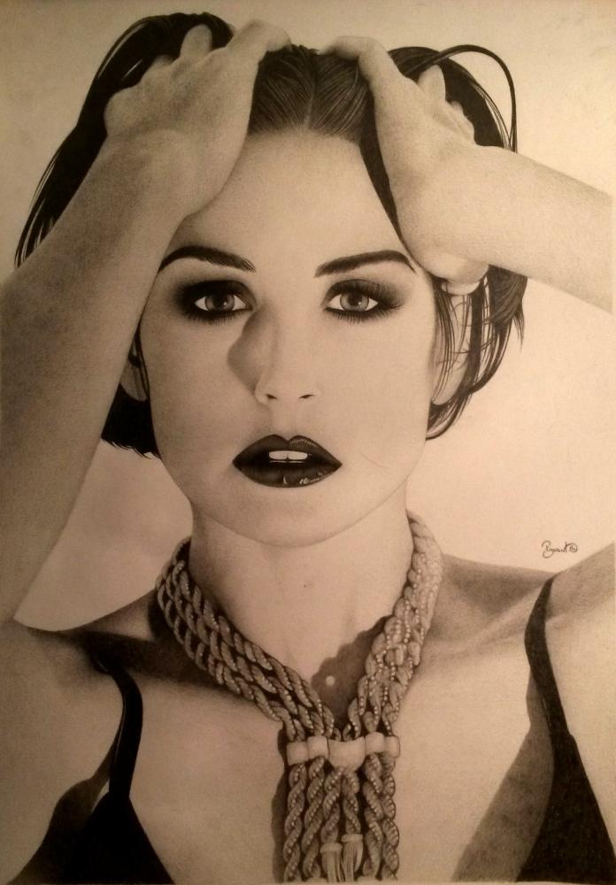 Demi Moore by BudPog